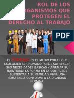 Organismos que Protegen el derecho al trabajo