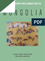 Peace Corps Mongolia Welcome Book  |  November 2008