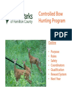 Bow Hunting Qualification Presentation FINAL