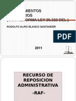 Procedimientos Reclamaciones Tributarias Ley 20.322.Ppt Udla 2011