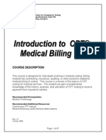 Plugin-Introduction to CPT Medical Billing 101