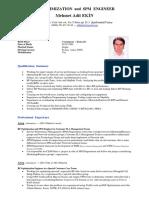 Adil EKIN (CV-RF Optimization and SPM Engineer)