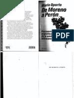 De Moreno a Peron