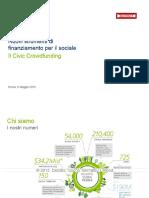 Salone CSR Deloitte Social Innovation e Civic Crowdfunding