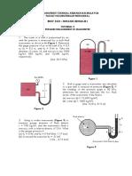 Tutorial 3 - BMCF 2223 (Manometer)