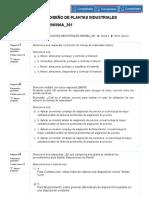 Act 9_ Quiz 2 diseño de plantas industriales