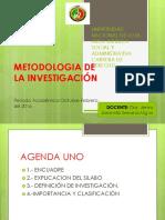 Metodologia de La Investigacion 01 Nov