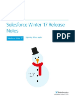 Salesforce Winter17 Release Notes