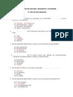 Banco de Preguntas - HGE - Prof. MEZA MEZA