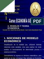 Modelos Teoría Económica