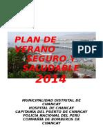 Plan Verano Saludable 2014
