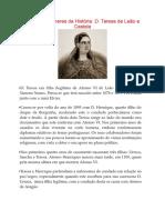 Grandes Mulheres Da História - Teresa de Castela e Leao