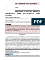 Reliability Estimation in Inverse Rayleigh Distribution using Precautionary Loss Function