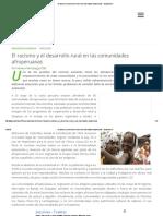 El Racismo y El Desarrollo Rural en Las Comunidades Afroperuanas - Ecoportal