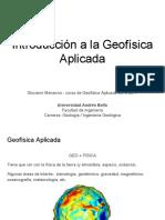 Introducion a La Geofisica