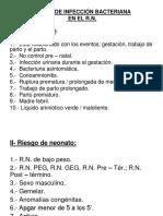 Clase 07. Sepsis Neonatal - Dra. Llanos