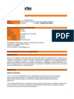 Ficha Diseño Editorial Universidad Bellas Artes
