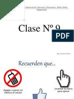 Clase N° 9 - Ped. Dif. del DM II - DM y Tec. de Tr. - 2016