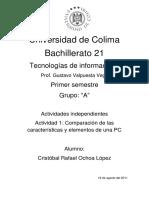 Informatica, actividad 1