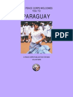 Peace Corps Paraguay Welcome Book  |  No Date Cover