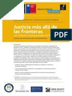 Justicia más allá de las fronteras