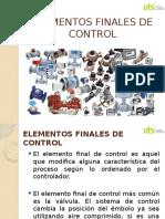 Elementos Finales de Control