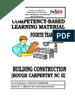 Ttsat Fabricating Formworks