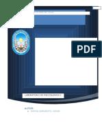 Informe Diametro Molecular