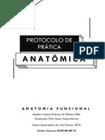 Protocolo de Prática Anatômica
