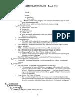 Information Law Outline