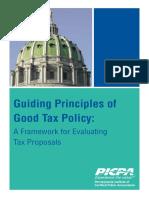 Good Tax System