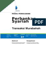 Modul 7 Transaksi Murabahah