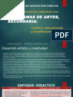 Presentaciòn Desarrollo Artistico y Creatividad