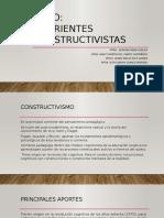 Corrientes Constructivistas