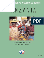Peace Corps Tanzania Welcome Book  |  July 2008