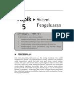 Topik 5 Sistem Pengeluaran