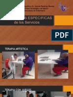 ACTIVIDADES ESPECIFICAS psicogeriatria