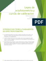 Leyes de Espectofotometria y Curvas de Calibracion[100]
