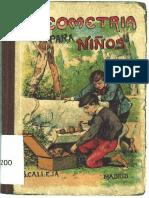 Nociones Elementales de Geografìa Para Niños S. Calleja