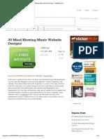 30 Mind Blowing Music Website Designs - DzineBlog