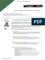 Guía de Detección y Eliminación de Malwares 2016
