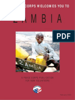 Peace Corps Zambia Welcome Book  |  February 2009