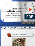 Global Cultural and Social Issues