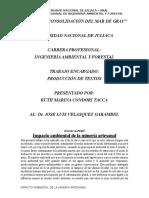 ensayo ruth - contaminacion ambiental en mineria`1