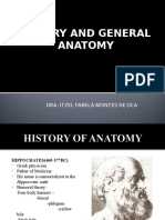 History of Anatomy
