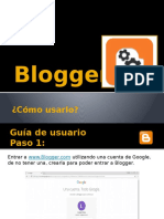Guía de Usuario Blogger