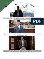 Personas Emprendedoras y Exitosas del Perú