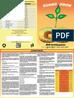 Ventas Folder guano grow