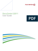 Docucentre 2011 user guide