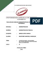 Contrataciones y Adquisiones Del Estado Peruano